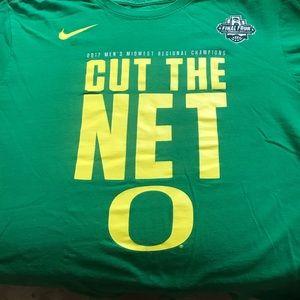 Nike Oregon Ducks Final Four Cut the Net T-Shirt